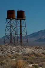 """""""Death Valley Junction Water Towers"""""""