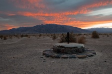"""""""Sunset At The Stove Pipe Well I"""""""