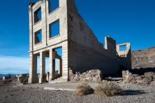 """Bank At Rhyolite, Nevada Ghost Town I"""