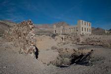 """Bank At Rhyolite, Nevada Ghost Town II"""
