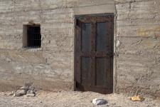 """Rhyolite, Nevada Jail House Door"""