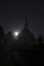 """Moonrise Over Ivy Chapel II"" - Fairmount Cemetery"