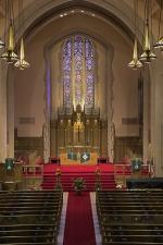 """Montview Stained Glass II"" - Montview Boulevard Presbyterian Church, Denver, Colorado"""