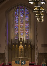 """Montview Stained Glass III"" - Montview Boulevard Presbyterian Church, Denver, Colorado"""
